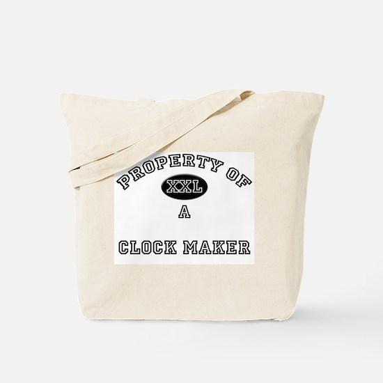 Property of a Clock Maker Tote Bag