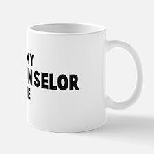 School Counselor costume Mug