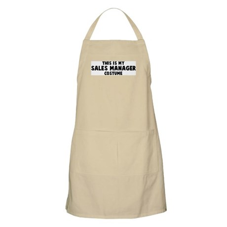 Sales Manager costume BBQ Apron
