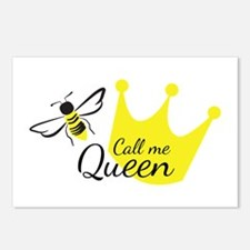Call Me Queen Bee Postcards (Package of 8)