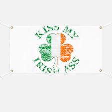 Kiss My Irish Ass Banner