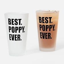Best Poppy Ever Drinkware Drinking Glass