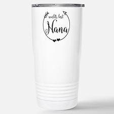 World's Best Nana Stainless Steel Travel Mug