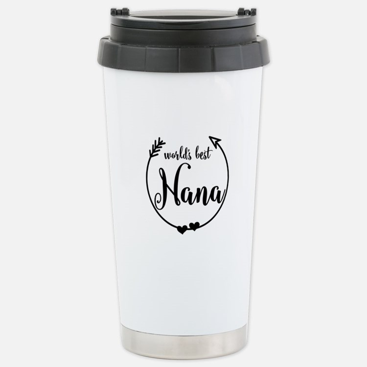 World's Best Nana Stainless Steel Travel Mug