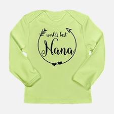 World's Best Nana Long Sleeve Infant T-Shirt