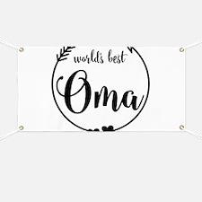 World's Best Oma Banner