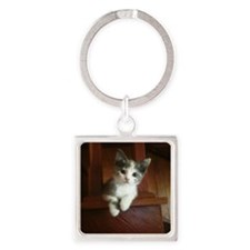 Adorable Calico Kitten Keychains