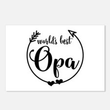 World's Best Opa Postcards (Package of 8)