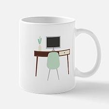 Midcentury Modern Desk Mugs