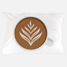 Latte Coffee Art Pillow Case