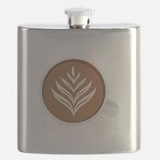 Latte Coffee Art Flask