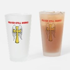 Unique Wings of a prayer Drinking Glass