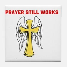 Cute Divine intervention Tile Coaster