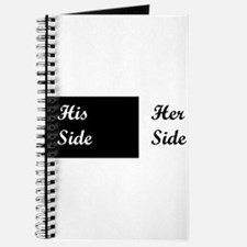 His Side: Her Side Pillow Case Journal