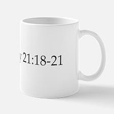 Deuteronomy Mug