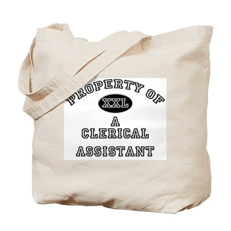 Property of a Clerical Assistant Tote Bag