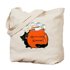 Black Cat & Witches Brew Tote Bag