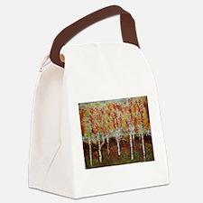 Birch Tree Love Canvas Lunch Bag