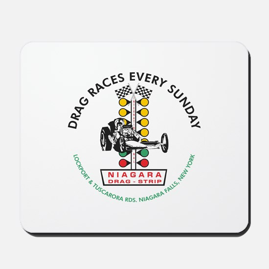 Niagara Drag Strip Mousepad