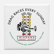 Niagara Drag Strip Tile Coaster