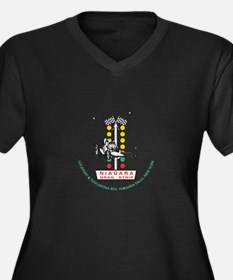 Niagara Drag Strip Plus Size T-Shirt