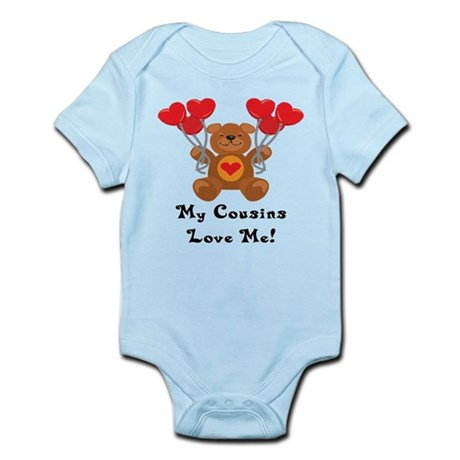 My Cousins Love Me! Infant Bodysuit