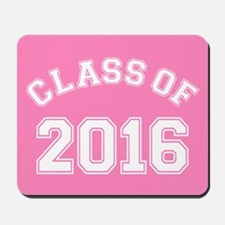 Pink Class Of 2016 Mousepad