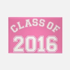 Pink Class Of 2016 Rectangle Magnet