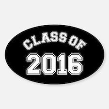 Class Of 2016 Sticker (Oval)