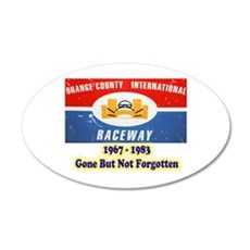 Orange County International Raceway Wall Decal