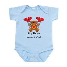 My Uncle Loves Me! Infant Bodysuit