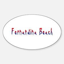 Fernandina Beach Florida Decal