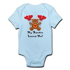 My Auntie Loves Me! Infant Bodysuit
