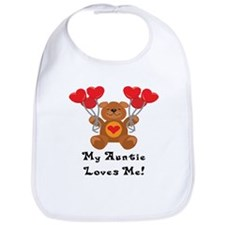 My Auntie Loves Me! Bib