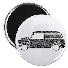 "Cute Mini van 2.25"" Magnet (10 pack)"