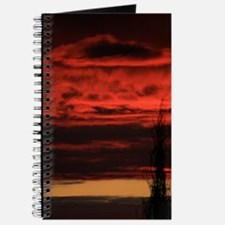 Fire In The Sky Sunset Journal