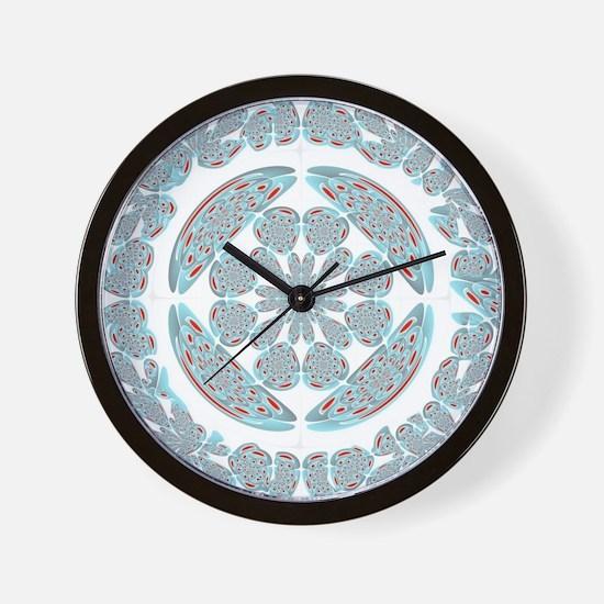 Symmetrical abstract Wall Clock