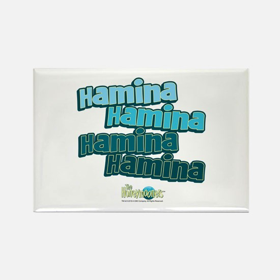 The Honeymooners: Haminia Hamina Rectangle Magnet