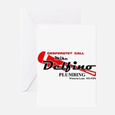 Mike Delfino Greeting Cards (Pk of 10)
