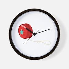 Yo-Yo Toy Wall Clock