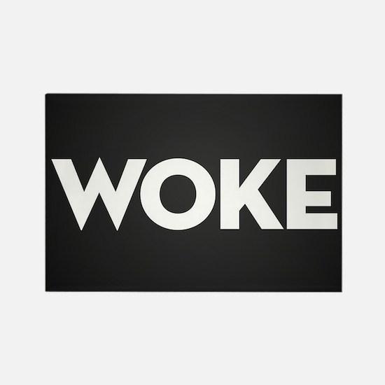 Woke Rectangle Magnet (100 pack)