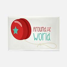 Around The World Magnets
