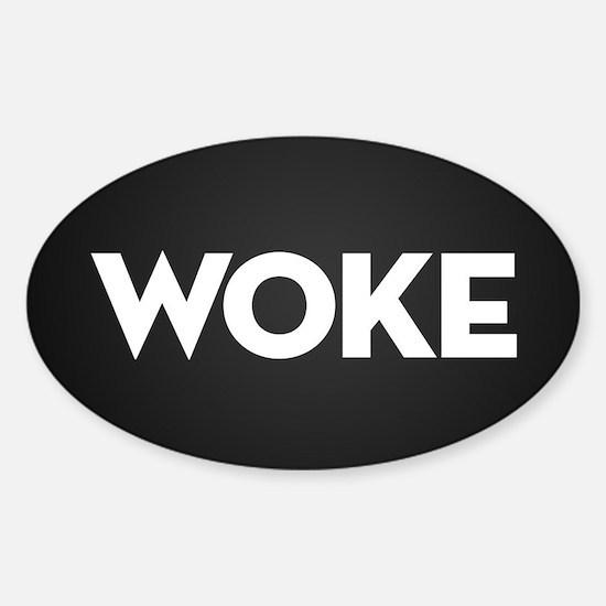 Woke Sticker (Oval)