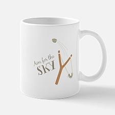 Aim For Sky Mugs