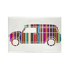 Cool Mini van Rectangle Magnet (10 pack)