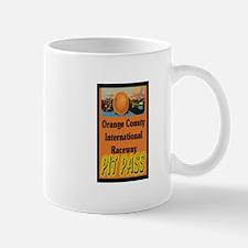 Orange County International Raceway Pit Pass Mugs