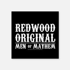 """SOA Men of Mayhem Square Sticker 3"""" x 3"""""""
