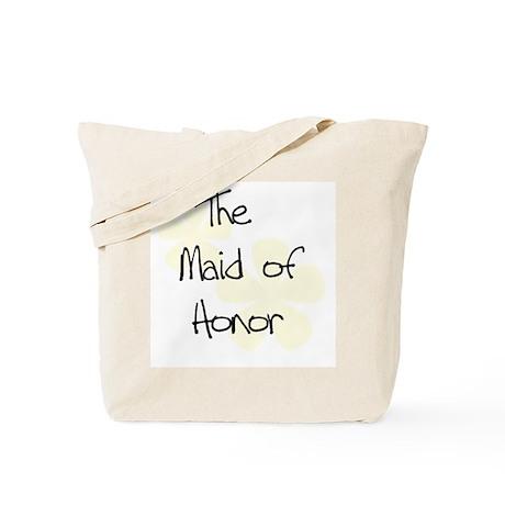 Maid Honor Yellow Tote Bag