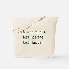 Lawyer Tote Bag