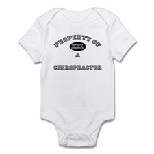 Property of a Chiropractor Infant Bodysuit